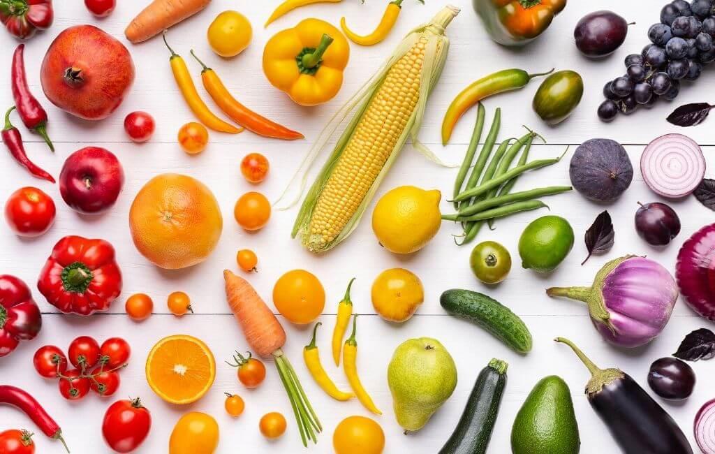 importancia frutas y verduras