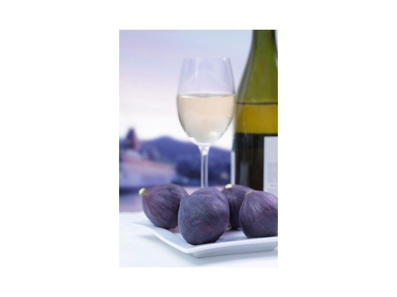 vinos y frutas